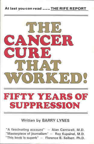 Book: The Cancer Cure That Worked