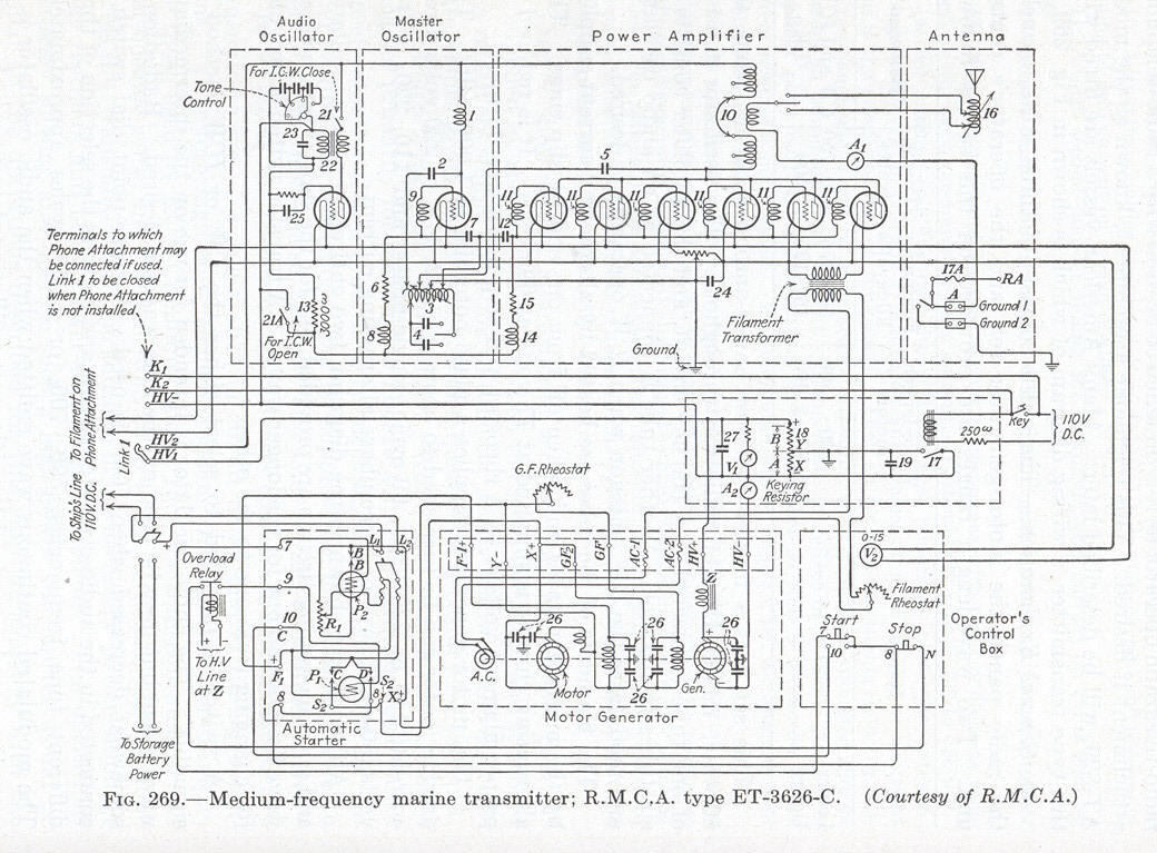 Auxiliary Power Supply - Note the receiver circuit built in