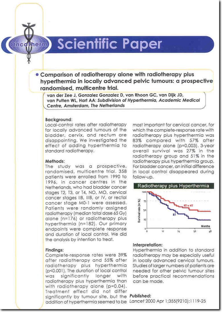 Oncotherm Scientific Paper